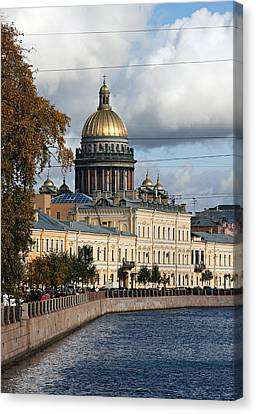 St. Petersburg Canvas Print