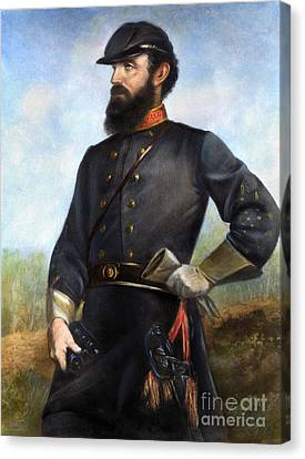 Stonewall Jackson Canvas Print by Granger