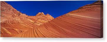 The Wave, Sandstone Formation, Kenab Canvas Print