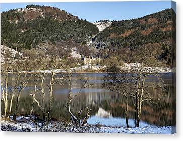 Trossachs Scenery In Scotland Canvas Print