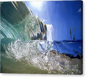 Underwater Wave Canvas Print by Vince Cavataio - Printscapes