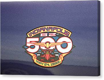 82nd Indianapolis 500 Canvas Print by Darrell Foster