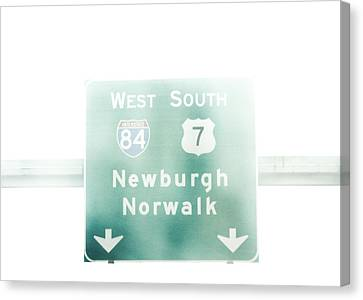 84 West Canvas Print by Victory  Designs
