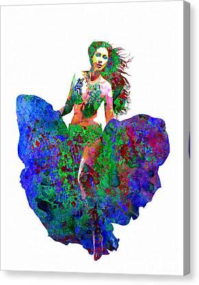 Relationships Canvas Print - Dance by Elena Kosvincheva