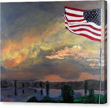 9 11 2001 Canvas Print by Stan Hamilton