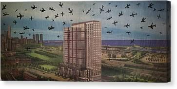 9-11-3 Canvas Print by William Douglas