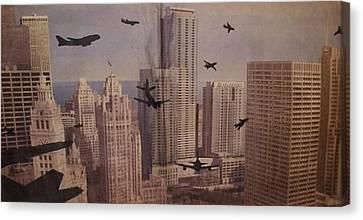 9-11-50 Canvas Print by William Douglas