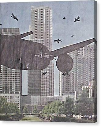 9-11-7 Canvas Print by William Douglas