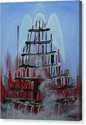 9-11 Canvas Print by Jorge Parellada