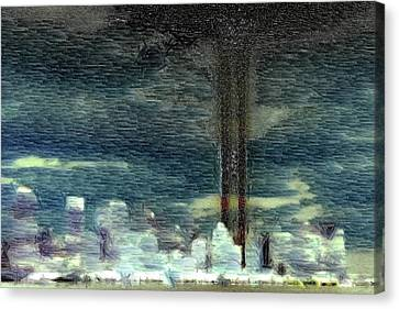 9 11 Memorial Canvas Print by Andrea Barbieri