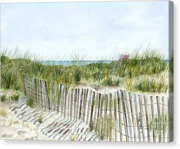 Long Canvas Print - 9-12-2001 by Sheryl Heatherly Hawkins