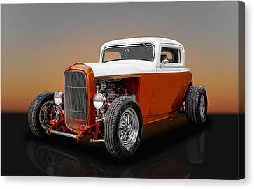 1932 Ford 3 Window Canvas Print