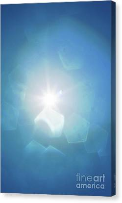 Abstract Sunlight Canvas Print