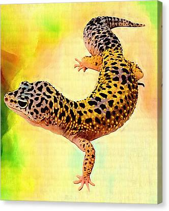 Amphibian Canvas Print by Elena Kosvincheva