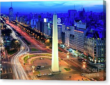 9 De Julio Avenue Canvas Print