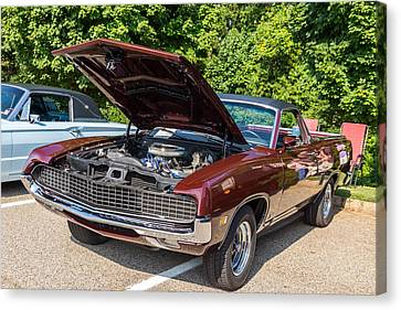 Hall County Sheriffs Office Show And Shine Car Show Canvas Print by Michael Sussman