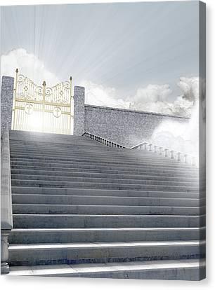 Heavens Gates Canvas Print by Allan Swart