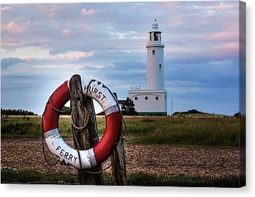 Hurst Point Lighthouse - England Canvas Print by Joana Kruse