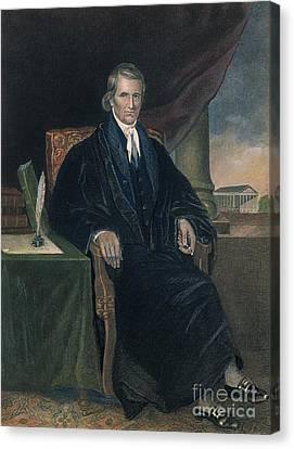 John Marshall (1755-1835) Canvas Print by Granger