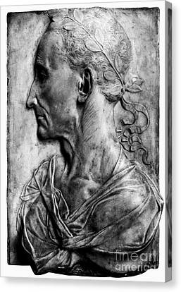 Julius Caesar (100-44 B.c.) Canvas Print
