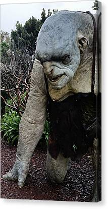 New Zealand - Bert The Troll Canvas Print by Jeffrey Shaw