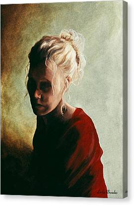 Canvas Print - 9 Pm by Leslie Rhoades