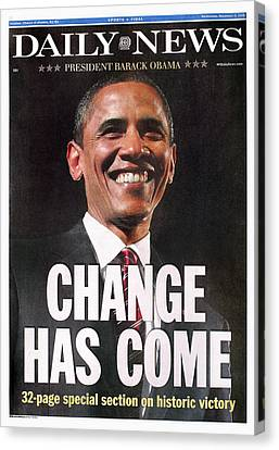 Americans Elect Canvas Print - Presidential Campaign, 2008 by Granger