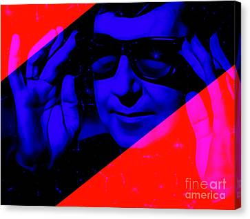 Roy Orbison Collection Canvas Print by Marvin Blaine
