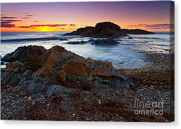 Second Valley Sunset Canvas Print by Bill  Robinson