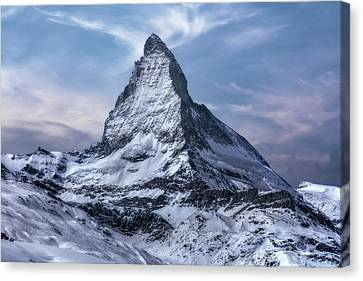 Bahn Canvas Print - Zermatt - Switzerland by Joana Kruse