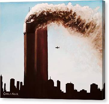 911 Canvas Print by Carla Keck