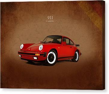 911 Carrera 1988 Canvas Print by Mark Rogan