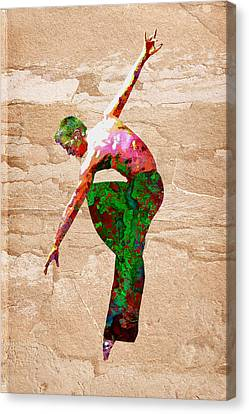 Female Canvas Print - Dance by Elena Kosvincheva