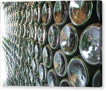 99 Bottles Of Beer On The Wall... Canvas Print by Martha Ayotte