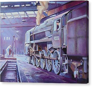 9f On Shed. Canvas Print