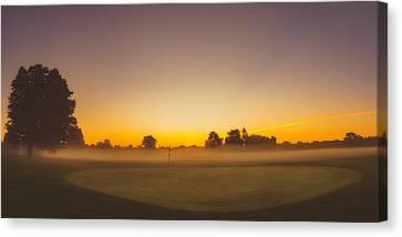 9th Hole Canvas Print by Chris Bordeleau