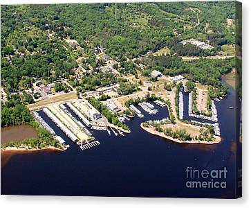 Canvas Print featuring the photograph A-008 Afton Harbors 2 Minnesota by Bill Lang