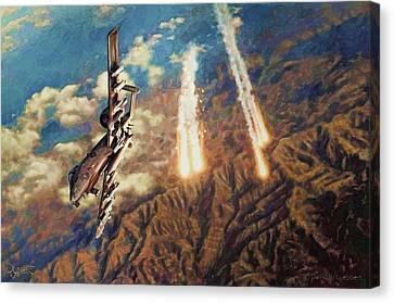 A-10 Thunderbolt Canvas Print