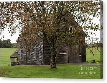 A Barn With History  # 3 Canvas Print