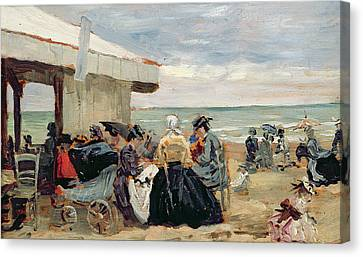 A Beach Scene Canvas Print