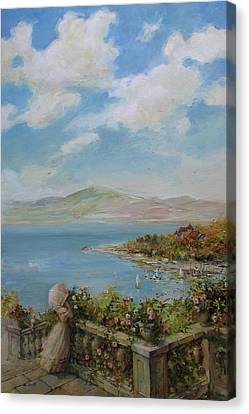 A Beautiful Day Canvas Print by Tigran Ghulyan