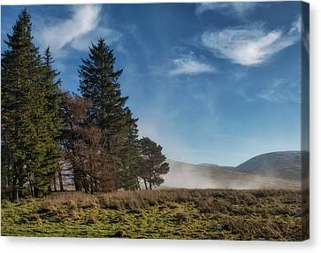 Canvas Print featuring the photograph A Beautiful Scottish Morning by Jeremy Lavender Photography