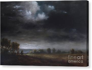 A Berkshire View Canvas Print by Larry Preston