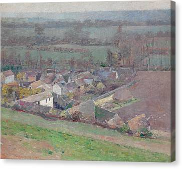 A Bird's-eye View Canvas Print by Theodore Robinson