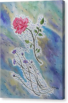 A Bit Of Whimsy Canvas Print by Carol Crisafi