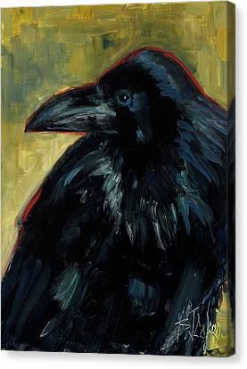 A Black Tie Affair Canvas Print by Billie Colson