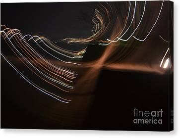 A Blink Of Light Canvas Print
