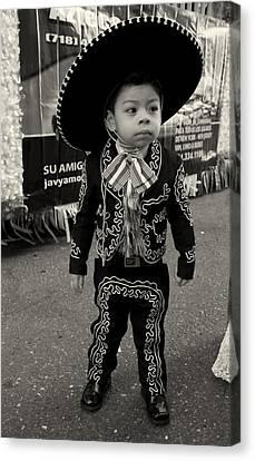 A Boy And His Sombrero 2 Canvas Print