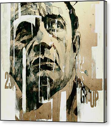 Johnny Cash Canvas Print - A Boy Named Sue by Paul Lovering