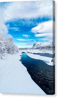 A Brand New Day Canvas Print by Tor-Ivar Naess